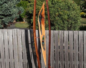 Visionary Rainbow Stained Glass Wood ART Tasmanian Specialty Timber Customized Sculptures