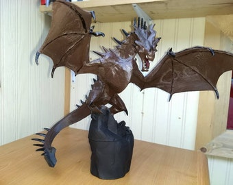 Dragon, Game of Thrones, hand painted, beautiful detail!