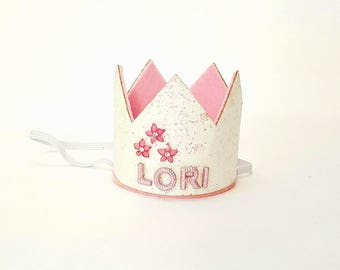 Custom Birthday Crown,Girls Birthday Custom Crown,Birthday Crown,Birthday Baby Crown,Birthday Crown, Custom Birthday Tiara, Custom Crown