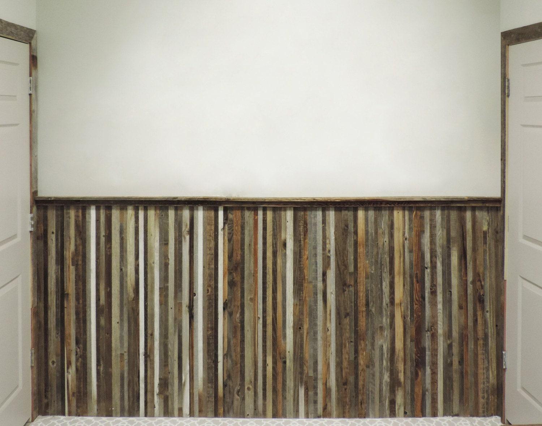 Barn Wood Wainscoting: Barnwood Wainscoting Reclaimed Wood Wall Paneling
