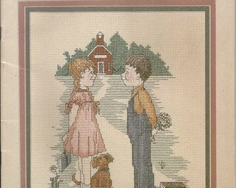 "Cross My Heart ""Down a Country Road"" Cross Stitch Leaflet"