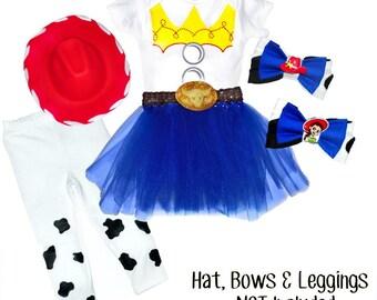 Jessie Cowgirl Tutu set - Toy Story Inspired
