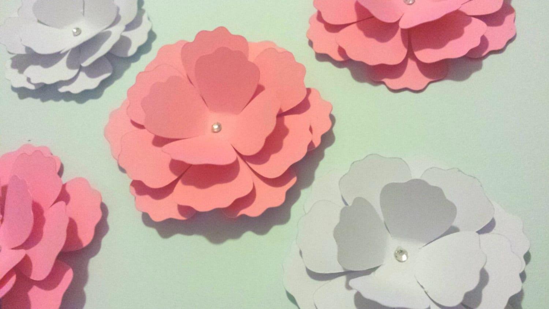 3d Paper Flower Ukrandiffusion