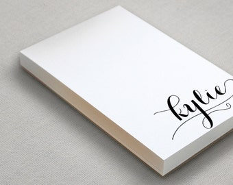 Personalized Notepad Gift | Monogram Note Pad | Custom To Do List | Monogrammed Stationery | HOLLA!