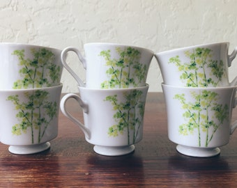Mikasa Tree Tops Footed Cups (Set of 6)