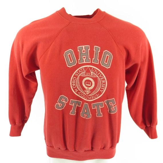 12 USA 80s Made Ohio 0 Sweatshirt Vintage Crest Champion Shelf H73V L University State Print ZqOnBaBpxA