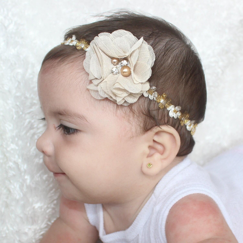 gold headband baby 43c611403b5