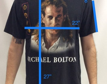 Vintage 1993 Micheal Bolton Timeless Tour T Shirt