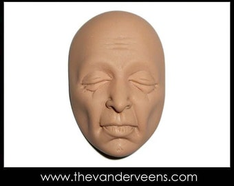 Mold No.25 (Face- Older man or woman looking) by Veronica