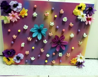 Flowers in the feild