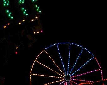 Photo Print - Carnival Rides, Night at the Carnival, Ferris Wheel