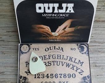 Ouija Board Game 1972 Parker Brothers William Fuld Mystifying Oracle Talking Board Set