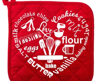 baking heart svg cooking