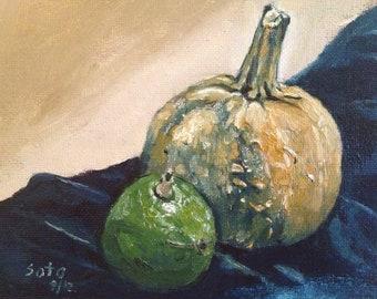 Avocado and Pumpkin