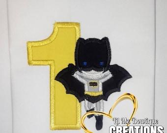 Batman birthday shirt, batman shirt, batman birthday shirt, birthday shirt for boy, super hero shirt, batboy shirt, boybat birthday,