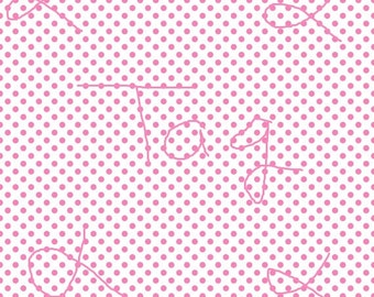 New Pricing and Packaging Pink Polka Dots on White Cardstock