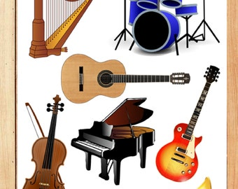 Music Instruments clipart