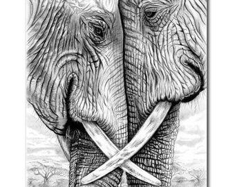 ATC ACEO Elephants