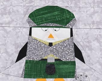 Scottish Penguin Glen - Paper Piecing