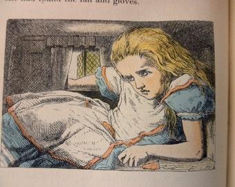 1940s ALICE In WONDERLAND book - Carroll, Tenniel, Random House