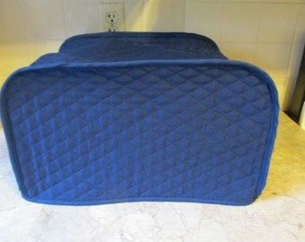 Navy Blue Toaster Oven Covers Kitchen Small Appliance Covers Home Decor Made To Order