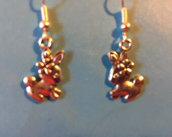 Bunny Rabbit Earrings   P65