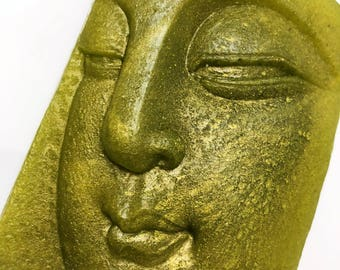 Buddha Soap, Shanti Soap, Dreaming Buddha, Soap Gift, Green Buddha, Religious Soap, Peaceful Shanti, Zen Soap, Peaceful Soap, Vegan Soap
