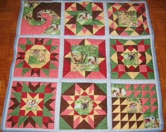 "Square patchwork ""Pets"""