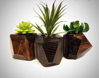Geometric Planters Set of 3