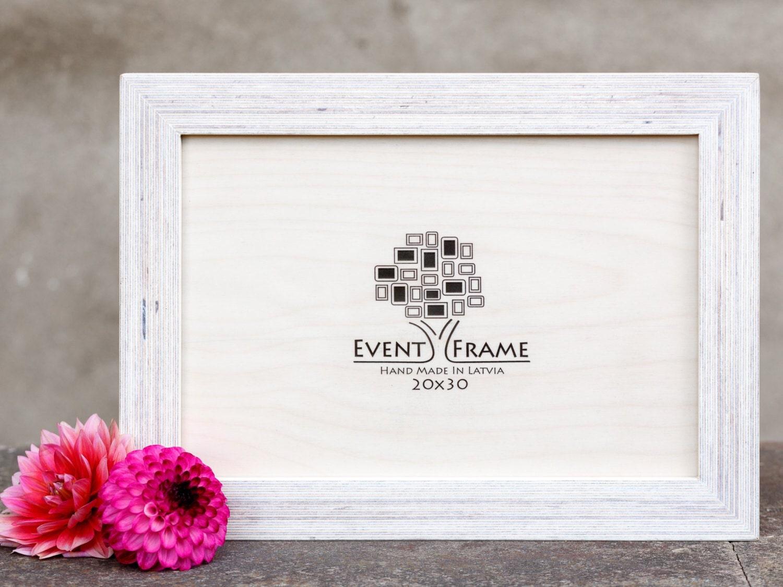 8x12 Picture frame, 20x30 cm Unique Wooden Rustic Design, Baltic ...