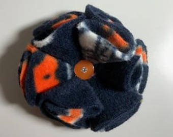 Chicago Bears Flower/Bow for Dog or Cat Collar
