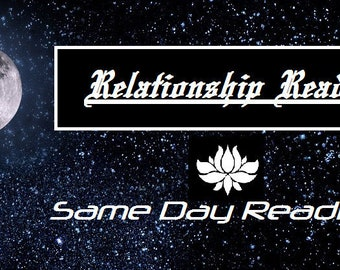 The Relationship Reading - what is going on?