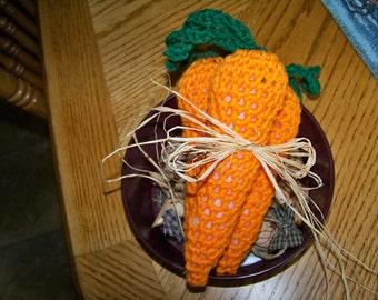 Set of 3 Carrot Bowl Fillers