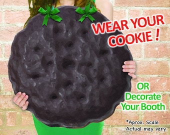 """WEAR Your COOKIE! Girl Scout """"Thin Mints"""" Cookies Booth Poster Decoration PRINTABLE Large 19x19"""" Sign +Bonus"""