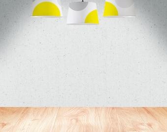 Circles | Lamp Shade, fabric 23 cm, 34 cm, 45 cm, hand painted
