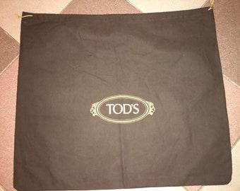 Authentic Brown, Tod's Dust Bag, for Bag Large Size Original, 48 x 55 cm