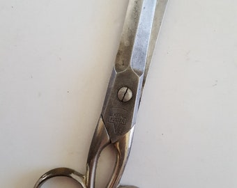 """Antique Simmons Hardware Co. Keen Kutter blunt nose scissors, 5"""" made in Germany"""