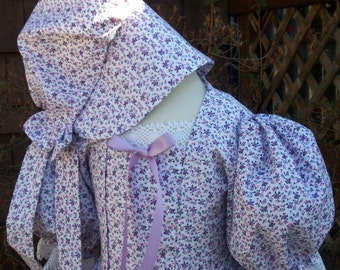 Girls Prairie/Pioneer Dress.. Early Victorian Costume.. (PLEASE read full details inside ad)