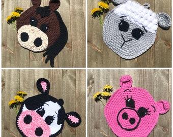 Farm Animal Crochet Pattern Bundle!