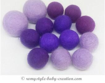 Kit 25 balls of wool