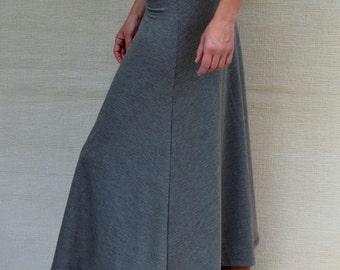 Maxi Skirt, High Waisted Maxi Skirt, A Line Skirt, Womens Skirts, Handmade Clothing, Boho Chic Clothing, Maternity Skirt, High Waisted Skirt