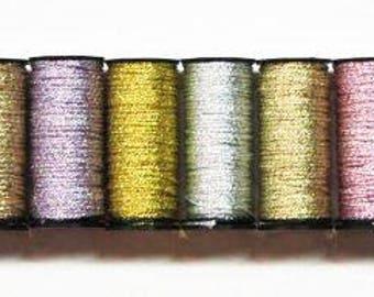 Kreinik Medium Braid 4.00 Each, Kreinik 16 Braid, Kreinik Braid Gemstones Collection, Kreinik 16 Medium Braid, Metallic Braid For Needlework
