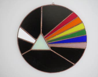 Stained Glass Prism Suncatcher