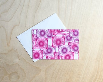 Cute note card set, Pattern Note Cards, note cards with envelopes, folded Note Card Set, Blank Card Set, note card set