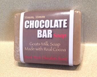 Mmm, Mmm Chocolate Bar Soap