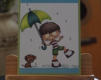 Rainy Day Card- Misc