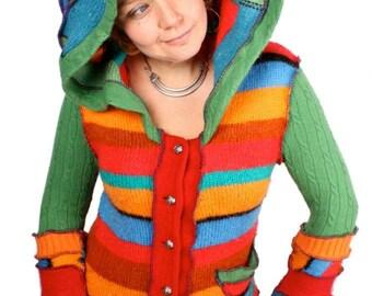 Hoodie Tutorial - Recycled Sweater Guide