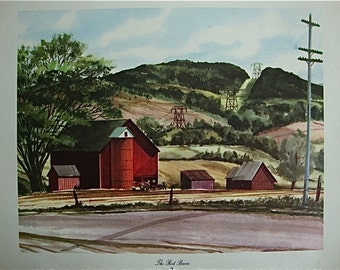 The Red Barn by John Rogers
