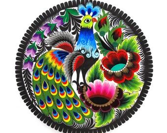 Paper cut / polish paper cut / Paper cut from Lowicz / polish folk art