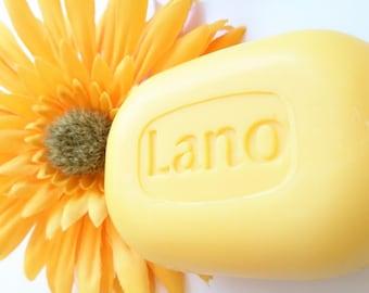 Two pack bar soap Lano mild family soap.